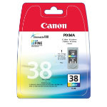 Canon CL 38 Original 3 Colours Inkjet Cartridge 1037B001