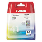 Canon CL41 Cyan Magenta Yellow Printer Ink Cartridge