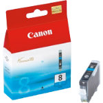 Canon CLI 8C Original Cyan Ink Cartridge 0621B001