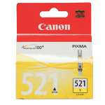 Canon CLI521Y Yellow Printer Ink Cartridge
