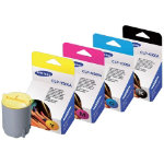 Samsung CLP300A CLPM300A CLPC300A CLPK300A Printer Ink Cartridge Bundle
