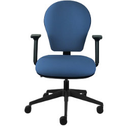 Call Centre Posture Office ChairFabric Blue