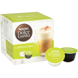 Nescafé Dolce Gusto Cappuccino and Creamer Capsules  Dolce Gusto 16 Pack
