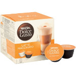 Nescafe Latte Macchiato and Creamer Capsules Dolce Gusto 16 Pieces