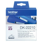 Brother DK 22210 QL Continuous Film Tape 29mm x 3088m White