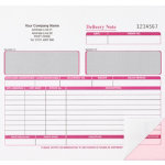 Ease Apart Personalised Delivery Note Set 2 Part 203 x 178 mm 250 Sets Per Pack