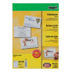 Sigel 3C Business Cards 185gsm for Inkjet Laser Copier High White Pack of 600