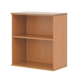 Newbury Office Environment Low Bookcase Beech 80W x 40D x 83H cm