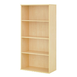 Newbury Office Environment High Bookcase Maple 80W x 40D x 160H cm