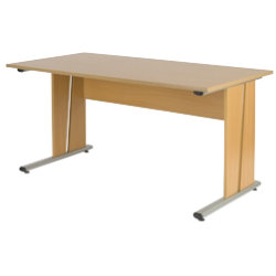 Newbury Office Environment 150cm Desk Oak 150W x 75D x 725H cm