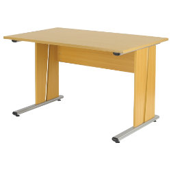 Newbury Office Environment 120cm Desk Oak 120W x 75D x 725H cm
