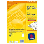 Avery Multi Function Copier Labels 210 x 297mm 100 Labels Per Box 3478