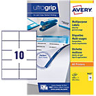 Avery Multi Function Copier Labels 105 x 58mm 1000 Labels Per Box 3425