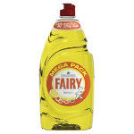 Fairy Washing Up Liquid Lemon Zest Pk 2