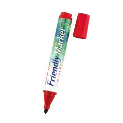 Friendly Permanent Markers Black