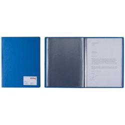 Display book blue 12 pocket