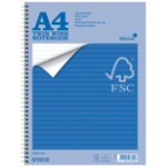 Silvine Environmental FSC Accredited Twinwire Notebook A4
