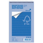 Silvine Environmental FSC Accredited Shorthand Spiral Notebook