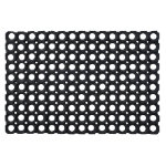 Doortex Rubber Honeycomb Door Mat Black 100 x 150 cm