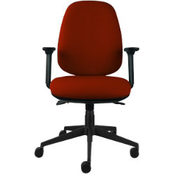 Energi 24 Back Care Posture Operators Chair In Burgundy By Viking