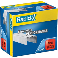 8mm Leg Rapid heavy duty Staples