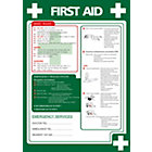 Health Safety Poster First Aid