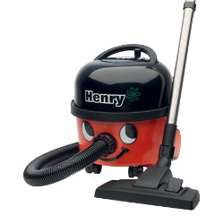 Numatic Henry Autosave Vacuum Cleaner HVR200A in Red