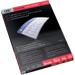 GBC High Speed Pouches A4 250 2 x 125 Micron 216 x 303mm 100 pk