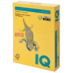Mondi IQ Coloured Card Deep Yellow A4 160gsm