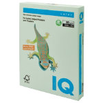 Mondi IQ Coloured Copy Paper Pale Green A3 80gsm