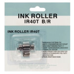 Printing Calculator Ink Roller Black Red