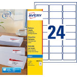 Avery Inkjet Addressing Labels J8159 25
