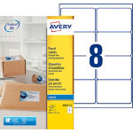 Avery Inkjet Addressing Labels J8165 25