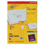 Avery Inkjet Shipping Labels J8167 100