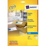 Avery Inkjet Address Labels 99 x 139mm 100 Labels Per Box J8169 25