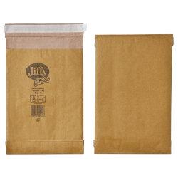 Jiffy Padded Bags Peel And Seal 90gsm Manilla Bag No 1 164 x 285 mm 100 Per Box