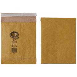 Jiffy Padded Bags Peel And Seal 90gsm Manilla Bag No 2 196 x 285 mm 100 Per Box
