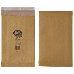 Jiffy Padded Bags Peel And Seal 90gsm Manilla Bag No 3 196 x 350 mm 100 Per Box