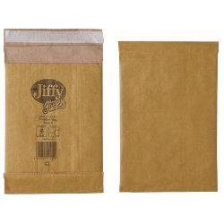 Jiffy Padded Bags Peel And Seal 90gsm Manilla Bag No 0 132 x 235 mm 200 Per Box