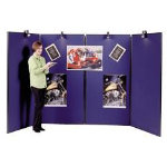 Jumbo 4 Panel Display Unit Blue