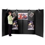 Jumbo 4 Panel Display Unit Black