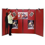 Jumbo 4 Panel Display Unit Red