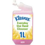 HAND CLEANSER KLEENEX EVERY DAY USE CASSETTE PINK 1 LTR PACK OF 1