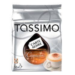 Tassimo Carte Noire Cappuccino Coffee T Discs 16 Pack
