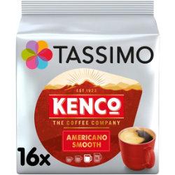 Tassimo Kenco Caffe Crema Coffee T Discs 16 Pack