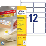 Avery Removable Labels 991 x 423mm 300 Labels Per Box L4743REV 25