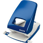 Leitz NeXXt Series Strong Metal Office Punch 2 Hole Blue 40 sheets