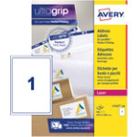 Avery BlockOuttm Laser Shipping and Parcel Labels L7167 100