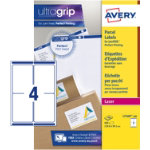 Avery Parcel Labels L7169 100 White 400 Labels per pack Box 100