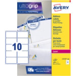Avery Addressing Labels QuickPEEL White 57 x 991 cm 1000 Labels per pack 100